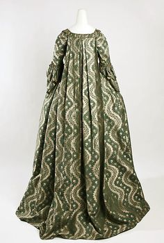 Dress Date: 1750–75 Culture: French Medium: silk Accession Number: C.I.43.90.49