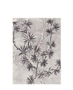 Print Larch grey