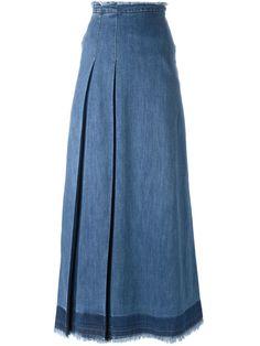See By Chloé Saia Maxi Jeans Com Pregas - Vitkac - Farfetch.com                                                                                                                                                                                 Mais