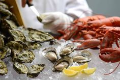 REFRESHING SEAFOOD SPLASH DINNER BUFFET WITH SEASONAL OYSTERS AT RENAISSANCE…