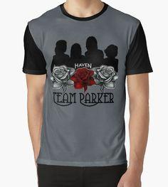 Haven Syfy Inspired |  Haven Team Parker Sides Of Audrey Black Logo