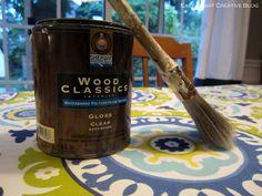 Doing this ASAP! DIY Fabric Floorcloth