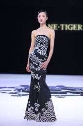 Black Dragon Chinese Gown 2011