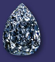 Don't you just love diamonds?............  The De Beers Millennium Star Diamond ... 203.04 carats of sparkle!  WOW!