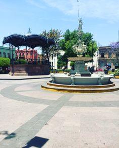 Querétaro. Jardín Zenea