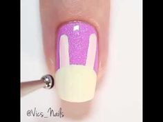 cute kitty nail art design  latest collection 2016