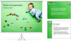 Jogando o bebê Modelos de apresentações PowerPoint