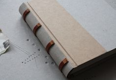 V FOR BOOKS — The birth of a simple leatherbound book, part 3 by Elina Lundahl