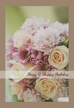 """Happy Birthday"" printable card. Customize, add text and photos. Print for free!"
