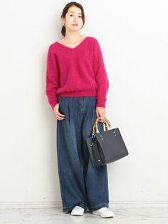 BEAUTY&YOUTH UNITED ARROWSスタッフのニット・セーターを使ったレディースファッションコーディネート | NO:26212