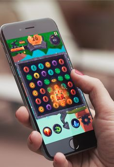 """Check out this @Behance project: """"Dragon Eye - Jewels Game"""" https://www.behance.net/gallery/38228879/Dragon-Eye-Jewels-Game"""