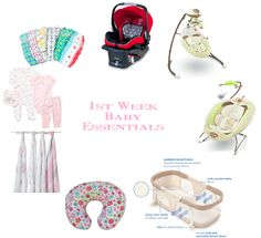 1st Week Baby Essentials - City Girl Meets Country Boy Blog - What to buy for baby