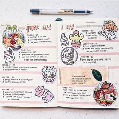 """298 Likes, 3 Comments - studygram/bujo inspiration. (@bullet.journals) on Instagram: """"Bujo spread by @europhias Use the tag #bulletjournalss for a chance of being featured. Use the…"""""""