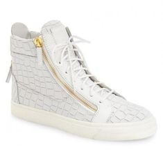 d3ed7906e2d3e Shop for Croc Embossed High Top Sneaker (Men) by Giuseppe Zanotti at  ShopStyle.