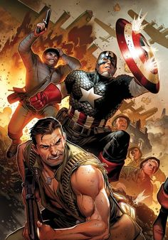 Captain America & the Howling Commandos by Jim Cheung
