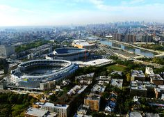 The Bronx New York | New and old Yankee Stadiums
