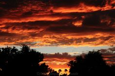 10-11-12 Sunset from Scottsdale :-)