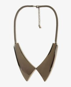 Pointed Flat Collar Necklace | FOREVER21 - $8.80