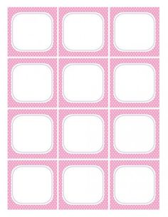 free girl birthday pink Flat Cards printables