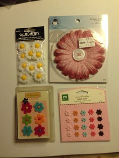 #ScrapbookEmbellishments #WholesaleLot Assorted Paper Craft And Scrapbook Embellishments Wholesale Lot New Unused P-11 #Assorted