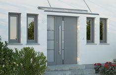 Garage Doors, Outdoor Decor, Home Decor, Google, House Entrance, Windows, Paint, Decoration Home, Room Decor