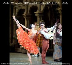 "❥Natalia Osipova  Ivan Vasiliev in ""Don Q"", (by © Gene Schiavone) https://www.facebook.com/groups/W.W.Ballet/"