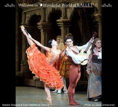 "❥Natalia Osipova  Ivan Vasiliev in ""Don Q"", (by © Gene Schiavone) https://www.facebook.com/groups/W.W.Ballet/"