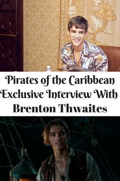 Interview with Brenton Thwaites, henry Turner, Pirates of the Caribbean Dead Men Tell No Tales, #PiratesLifeEvent