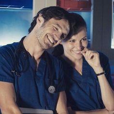 Still love this photo of Eoin Macken and Jill Flint (TC and Jordan)♡