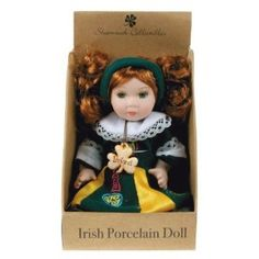 Irish Dancer Porcelain Doll