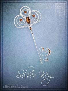 Silver Key by Rittik.deviantart.com on @DeviantArt