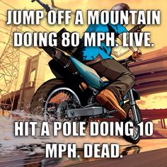 #GTA V Motorcycle Logic