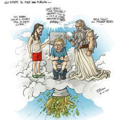 La Morte ti fa Ricco... Povero Paul 0_o  #VignettaDelGiornoDiBoban #VignettaVideo