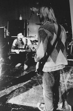Nirvana Roseland Ballroom July 22 1993, photo Jesse Frohman