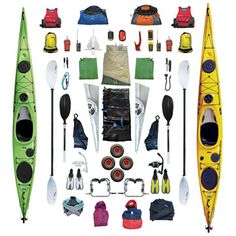 Our Kayak Packing List of all the stuff we'll be hauling along on our 1000km sea kayaking journey along the East Coast of Australia.