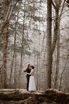 Smoky Mountains Adventure Elopement in Elkmont, Tennessee