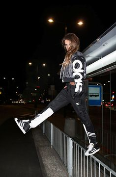 Rita Ora X Adidas Originals Transparent Wind Breakers Jacket