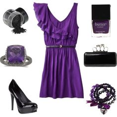 Purple Magic :), created by cassie-wagner.polyvore.com