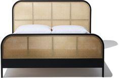 Cane King Bed | Indu