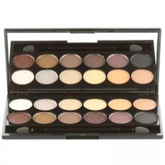 Sleek Makeup - Lidschatten Palette - Nr. 601 i-Divine Au Naturel
