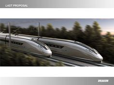 Drakon high speed train is a styling project.The main goal is achieve a new concept train which is suitable with the new automotive design shapes. In this case the UNOFFICIAL project have been carried out for the new California high speed rail that is ex… Transportation Technology, Future Transportation, California High Speed Rail, Train Wallpaper, Train Vacations, Spaceship Concept, Alien Planet, Industrial Design Sketch, Train Art