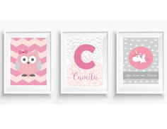 kit-posters-baby-coruja-e-unicornio-decor