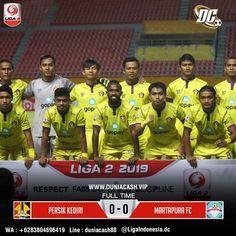 Hasil Pertandingan Bola  Persik VS Martapura