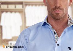 Ontwerp nu uw eigen overhemd op maat met Liberty stoffen in de kraag en knoopsluiting. Bivolino's hemden op maat geconfigureerd zonder meetlint te gebruiken. De juiste maat 100% gegarandeerd.