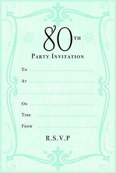 Get Birthday Party Invitations Free