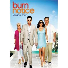 Burn Notice: Season Four (4 Discs) (dvd_video)