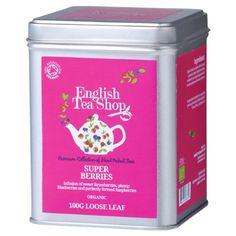 English Tea Shop Super Berries Organic Loose Tea 100 g
