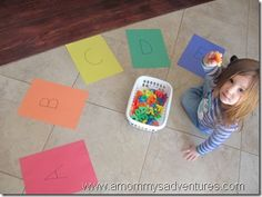 Little hands-on abc's & 123's. Tons of hands-on ideas for teaching abc's and 123's.