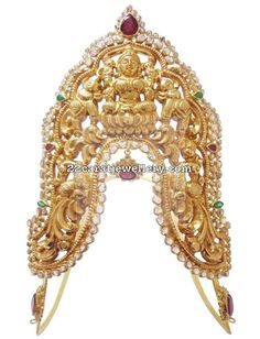 Latest Collection of best Indian Jewellery Designs. Baby Jewelry, Photo Jewelry, Bridal Jewelry, Gold Jewelry, Stone Jewelry, Jewlery, Vanki Designs Jewellery, Indian Jewellery Design, Jewelry Design