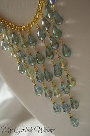 My Girlish Whims: Mermaid Necklace Tutorial